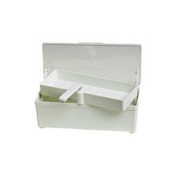 Vaschetta disinfezione in plastica, capacità 1 lt.
