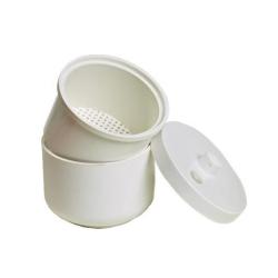 Vaschetta disinfezione frese, capacità 150 ml.