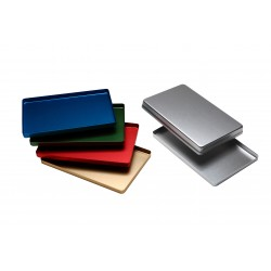 Vassoio maxi in alluminio non forato