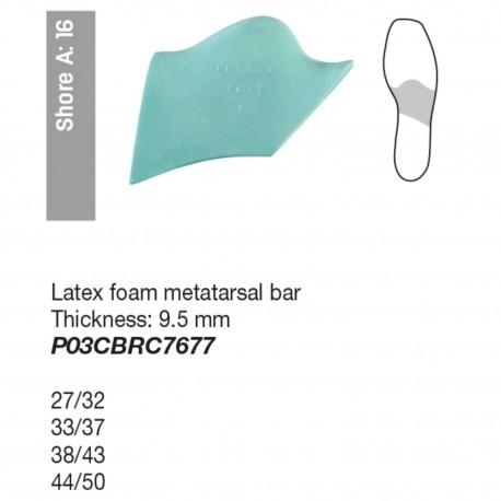 Avampiede Latex foam metatarsal bar