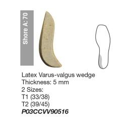 Tallone Latex varus-valgus wedge
