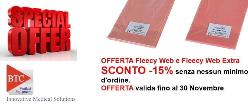 Cerotto Felpato Fleecy Web