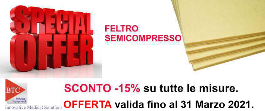 Feltro Semicompresso