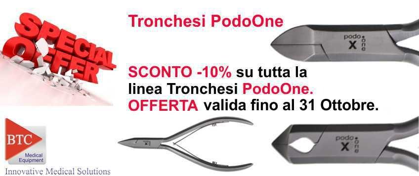 Tronchesi linea PodoOne